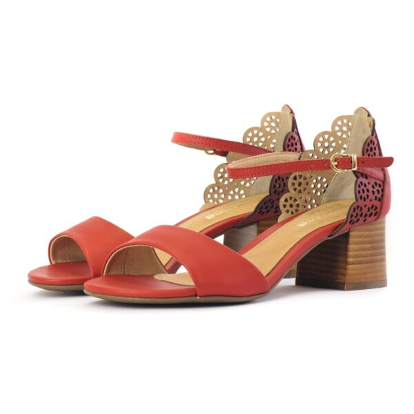 Γυναικεία Παπούτσια Χαμηλό Πέδιλο Σχεδιασμένο με Laser