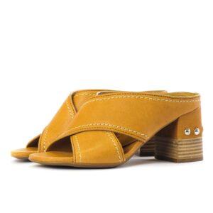 Γυναικεία Παπούτσια Γυναικεία Παντόφλα με Τρουκς στο Τακούνι