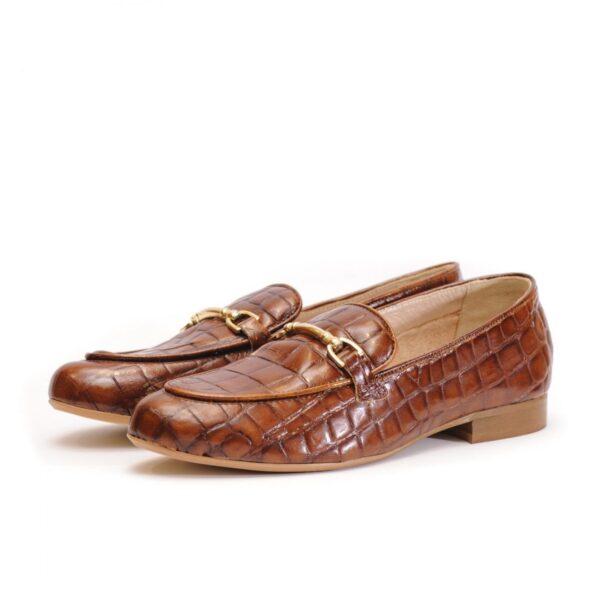 Γυναικεία Παπούτσια Γυναικεία Μοκασίνια Κροκό