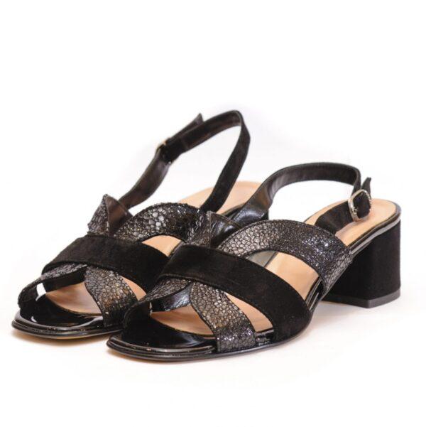 Γυναικεία Παπούτσια Γυναικεία Πέδιλα με Μεσαίο Τακούνι