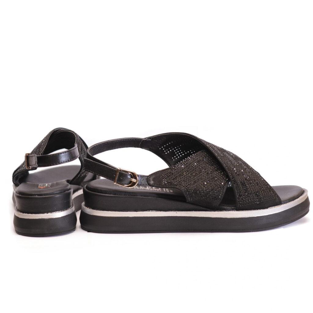Γυναικεία Παπούτσια Γυναικείο Πέδιλο Flexible με Στρας