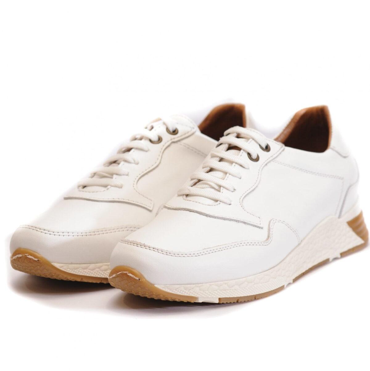 Αντρικό Casual Total White Sneaker 1