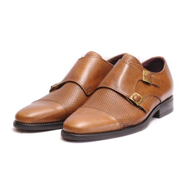 Ανδρικά Παπούτσια Αντρικό Loafers με 2 Τοκάδες