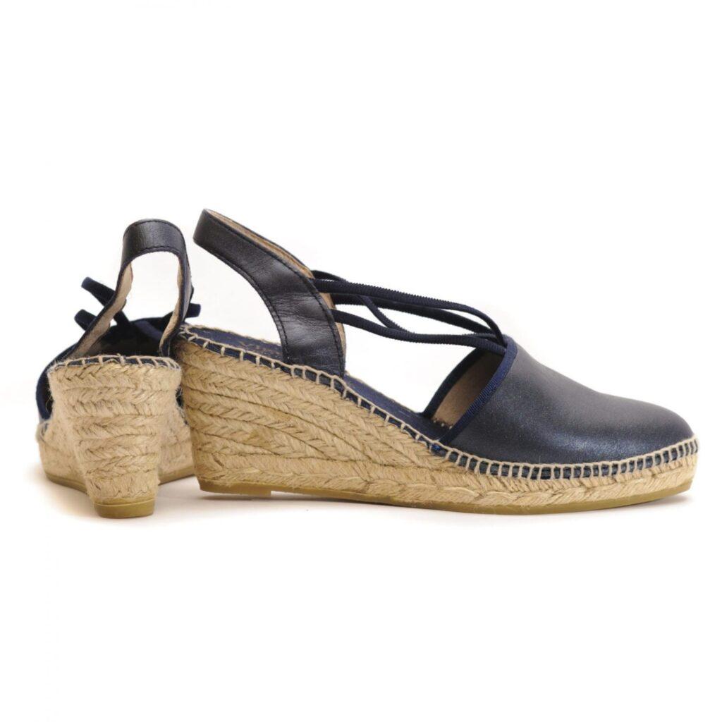 Γυναικεία Παπούτσια Γυναικεία Εσπαντρίγια με Λείο Δέρμα