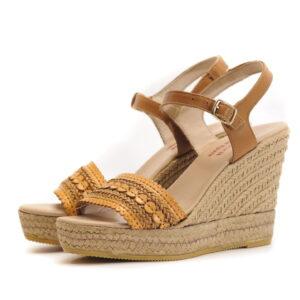 Γυναικεία Παπούτσια Γυναικείο Πέδιλο Εσπαντρίγια σε Boho Style