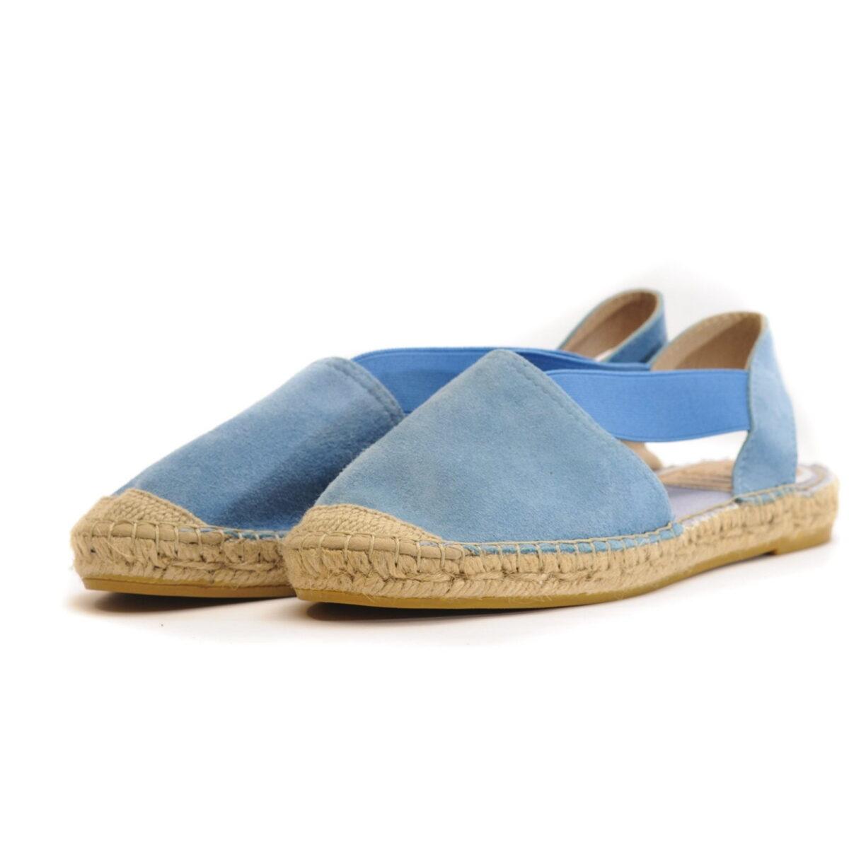 Γυναικεία Παπούτσια Flat Εσπαντρίγια με Έξω Φτέρνα