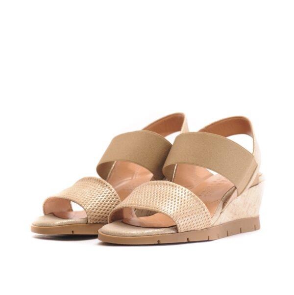 Γυναικεία Παπούτσια Comfort Πλατφόρμα με Μεταλλικές Λεπτομέρειες
