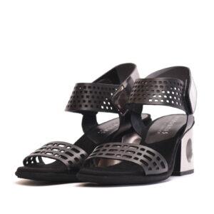 Γυναικεία Παπούτσια Γυναικείο Πέδιλο με Μοντέρνο Τακούνι