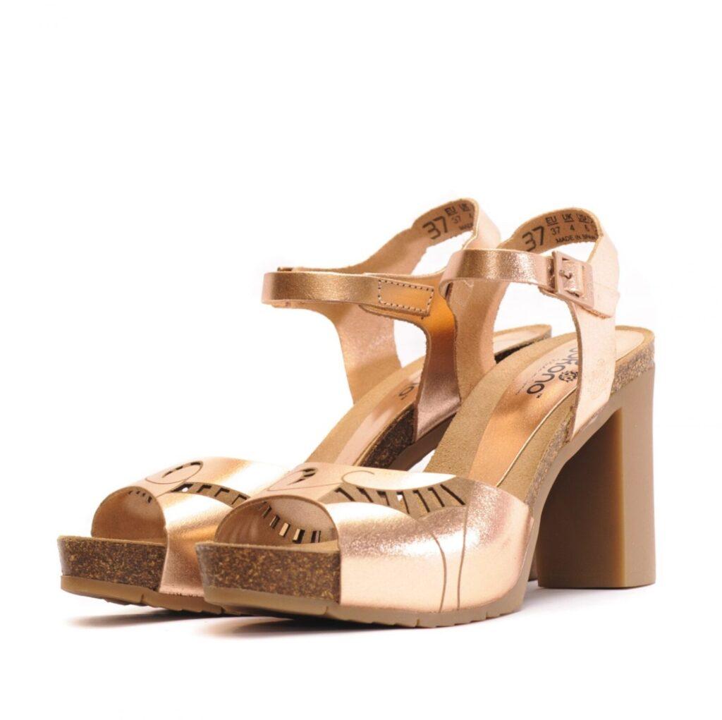 Γυναικεία Παπούτσια Γυναικείο Flexy Πέδιλο με Μεταλλικό Χρώμα