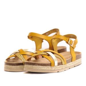 Γυναικεία Παπούτσια Γυναικείο Χαμηλό Σανδάλι με Λουράκια