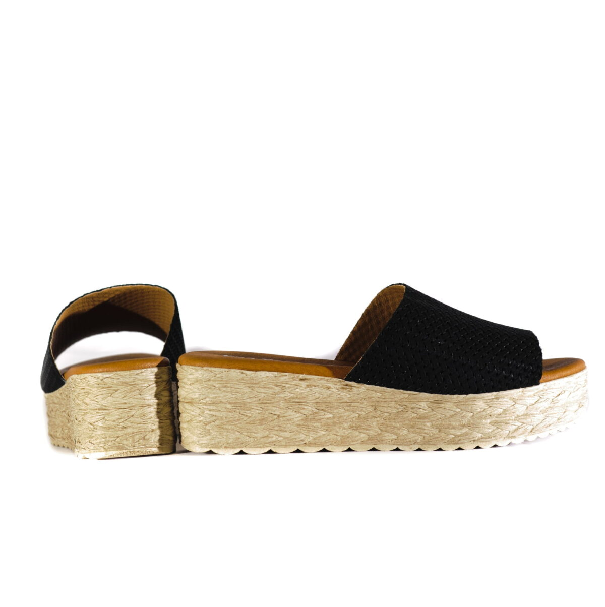 Γυναικεία Παπούτσια Γυναικεία Flatform Παντόφλα με Στυλ Ψάθας