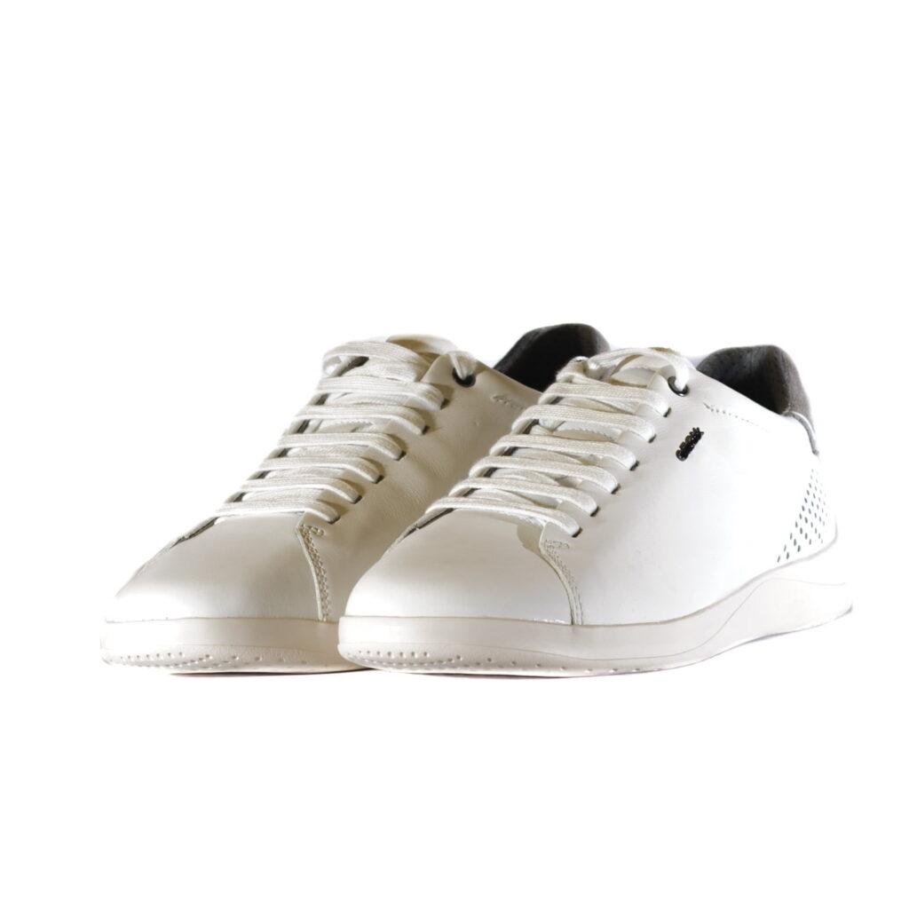 Black Friday 2020 Αντρικό Sneaker White με Γκρι Λεπτομέρειες