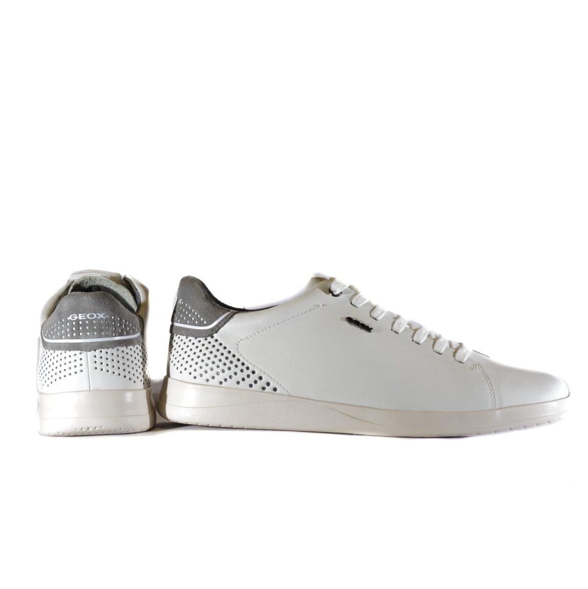 Ανδρικά Sneakers Casual Αντρικό Sneaker White με Γκρι Λεπτομέρειες
