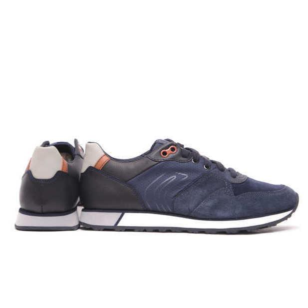 Αντρικό Casual Sneaker με Πορτοκαλί Λεπτομέρειες