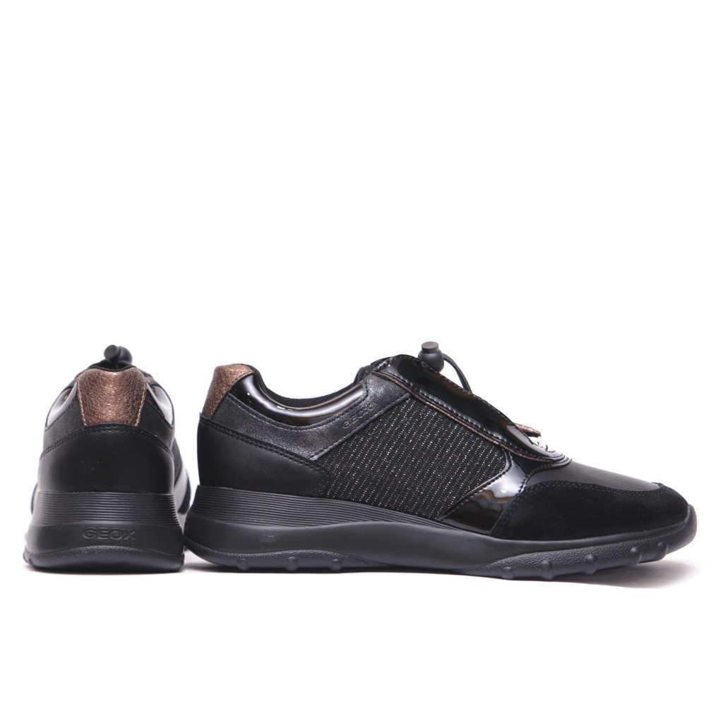 Γυναικείο Sneaker με Glitter Λεπτομέρειες & Λουστρίν