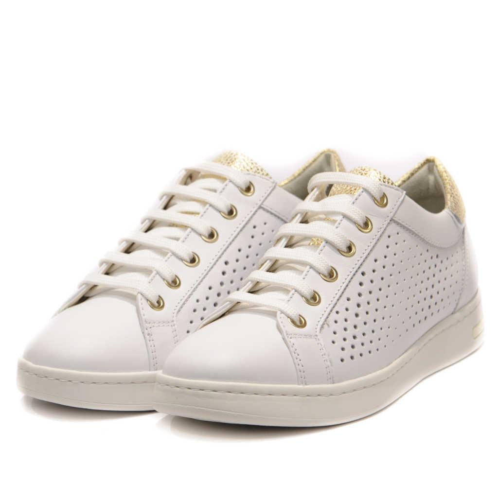Geox Γυναικείο Sneakers με Χρυσές Λεπτομέρειες