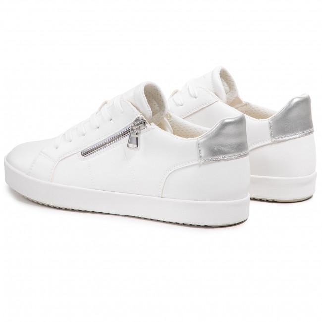 Geox Γυναικείο Sneakers Total White